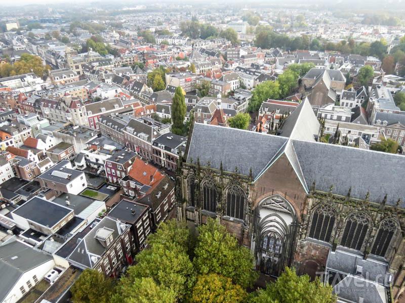 Вид на Утрехт с колокольни, Нидерланды / Фото из Нидерландов