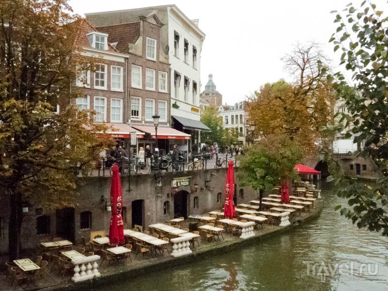 Кафе в бывшем складе в Утрехте, Нидерланды / Фото из Нидерландов