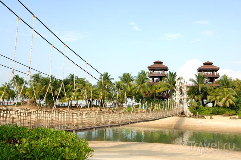 Мост на самую южную точку Азии
