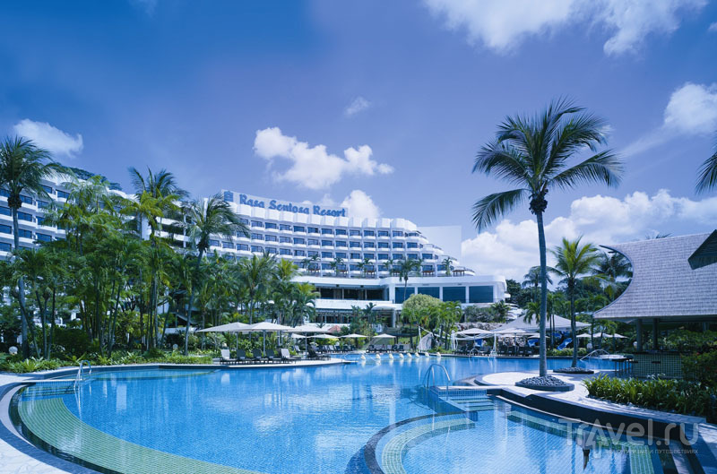 Лучший спа-отель на острове Сентоза