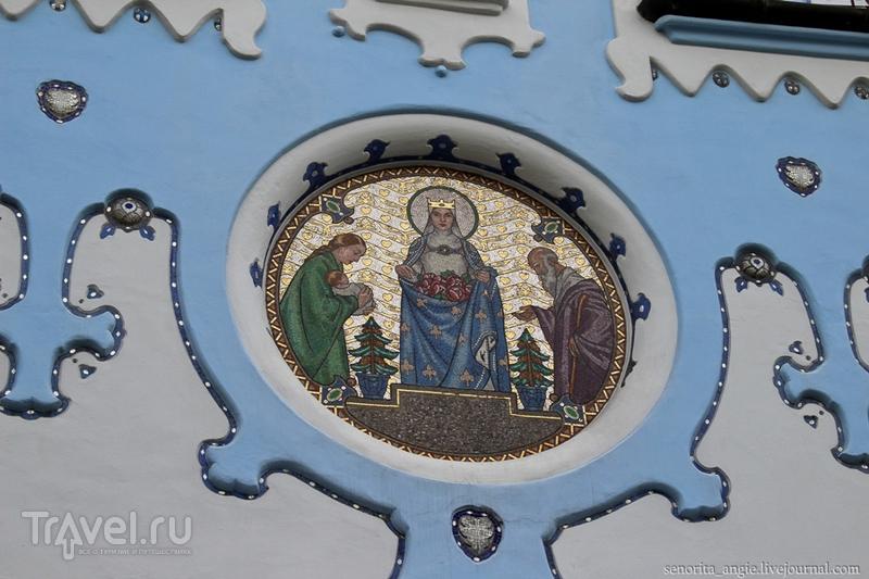 Голубой костел Братиславы / Словакия