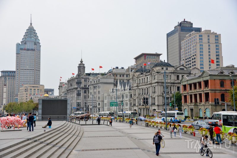 Шанхайские черты / Фото из Китая