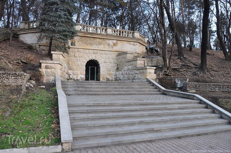 Достопримечательности курортного лечебного парка г.Ессентуки / Россия