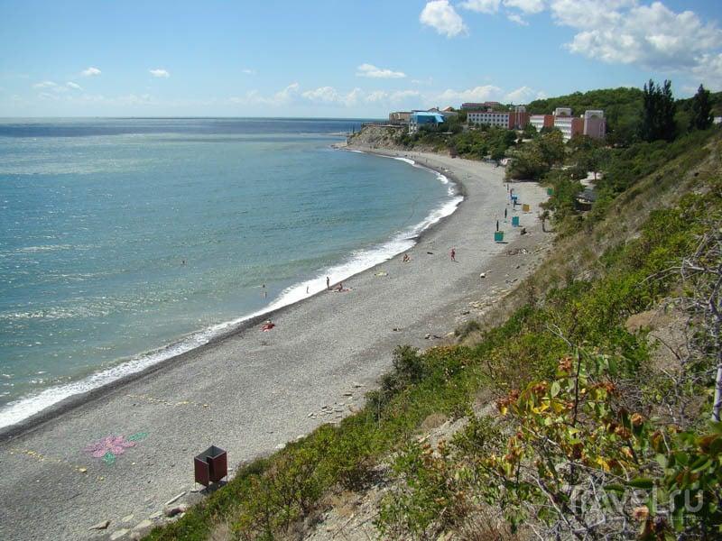 Широкая балка  пляжа