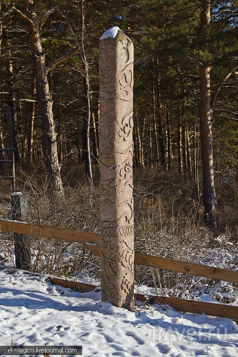 Томская писаница, самый длинный понтонный мост России и красоты сибирской осени / Фото из России