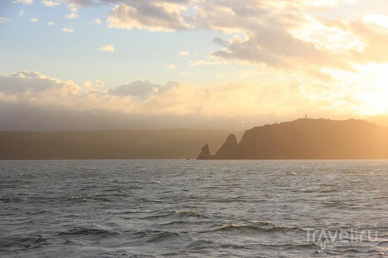 Авачинская бухта на закате. Камчатка / Россия