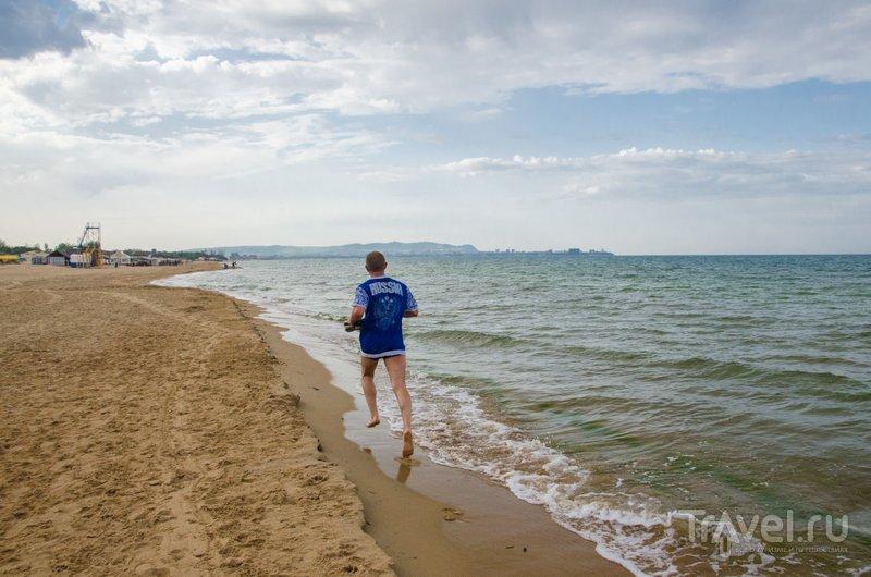 Утренняя пробежка по пляжу Джемете