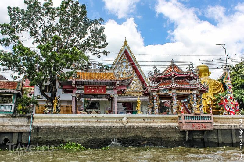 Многополосные каналы Бангкока / Фото из Таиланда