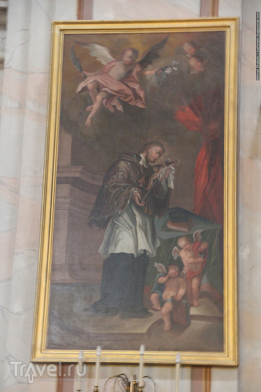 В Кафедральном соборе святых Петра и Павла в Каунасе / Литва