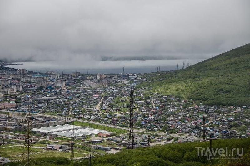 Вид на Магадан / Фото из России