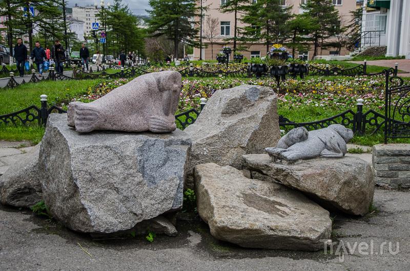 Арт-объект на проспекте Ленина / Фото из России