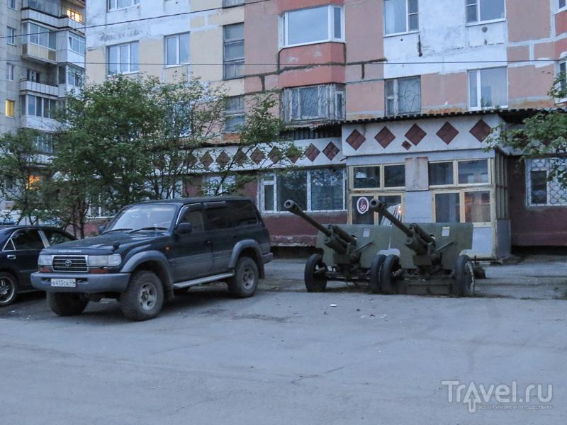 Парковка в Магадане / Фото из России
