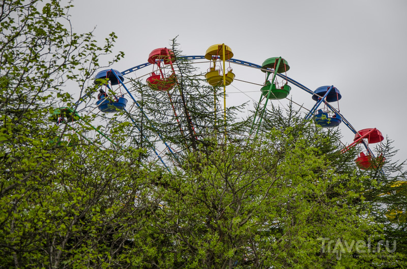 Обзорное колесо в Магадане