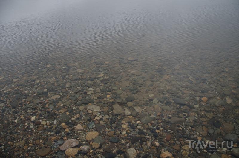 Прозрачная вода Глухого озера / Фото из России