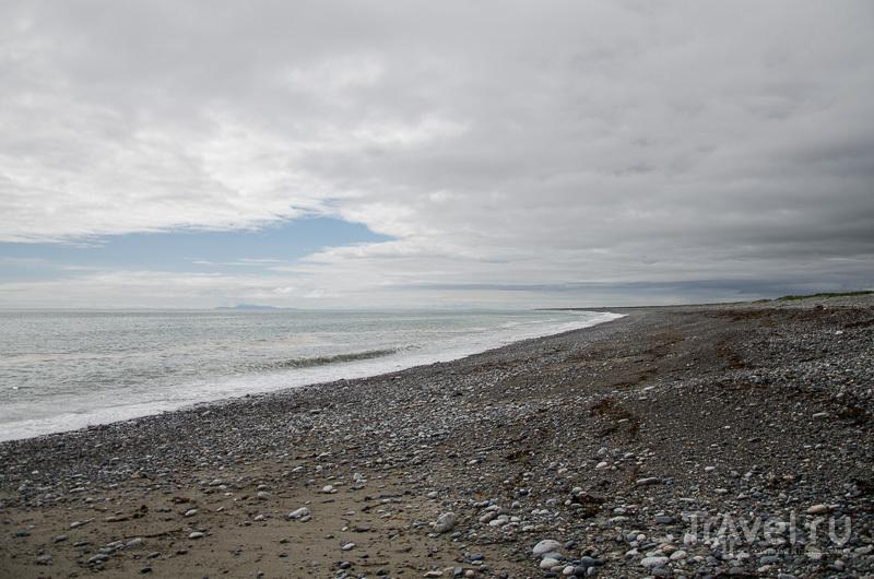 Пляж у моря / Фото из России