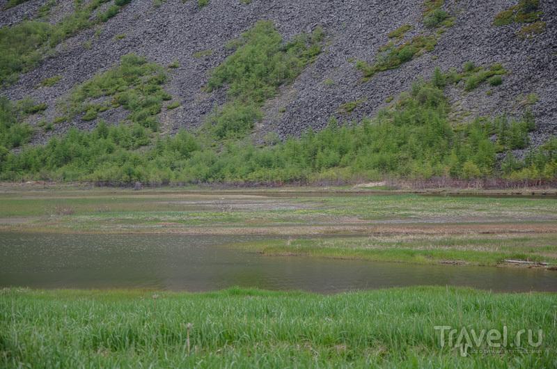 Соленое озеро / Фото из России