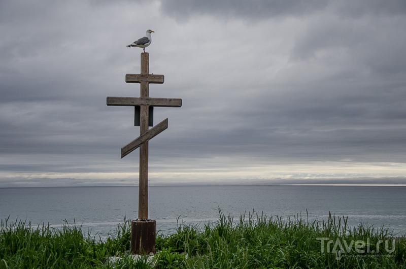 Крест у Соленого озера / Фото из России
