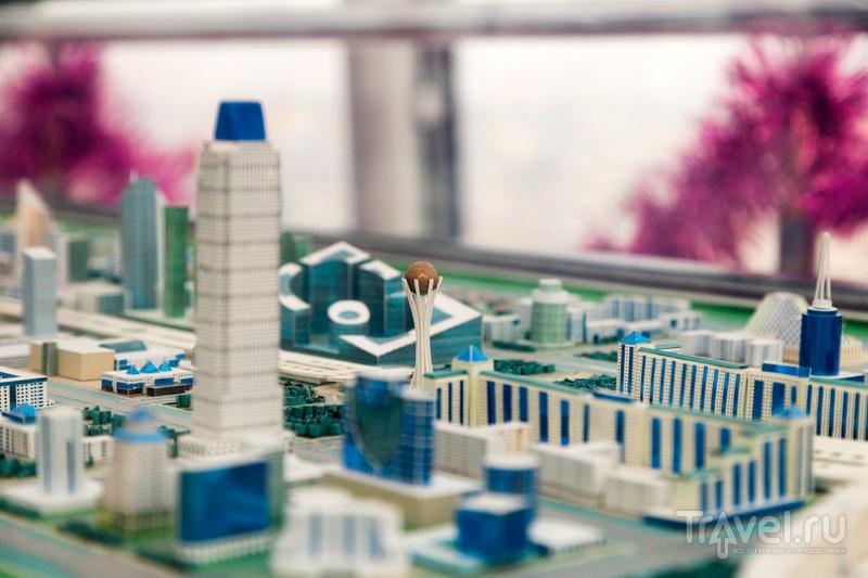 Астана. Национальный музей и монумент Байтерек / Фото из Казахстана