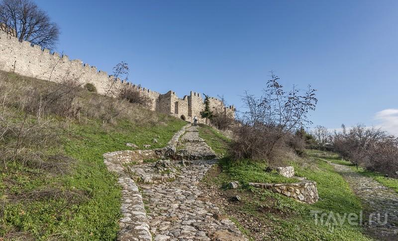 Проезжая мимо - крепость Платамон / Греция