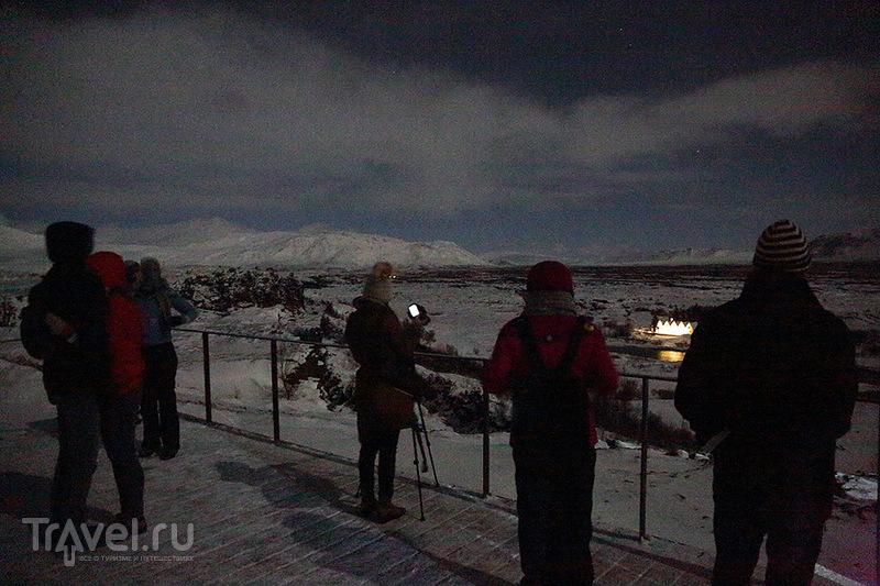 Исландия. Полярное сияние / Исландия