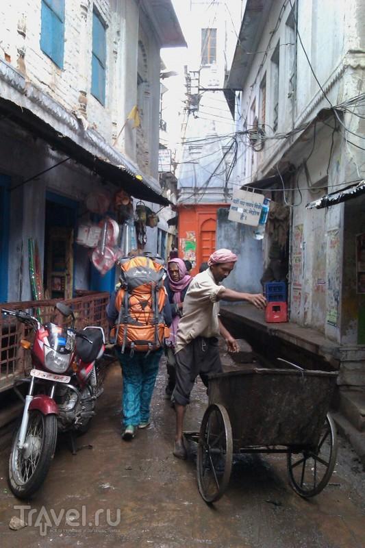 Про поезда и Файзабад, не туристическая Индия / Индия