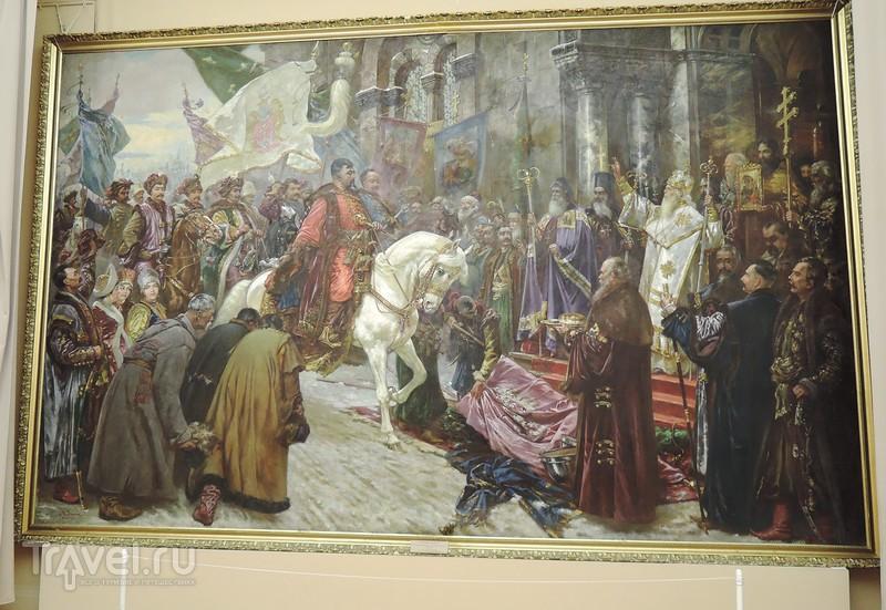 Пешком по рождественскому Киеву. Национальный художественный музей Украины / Украина