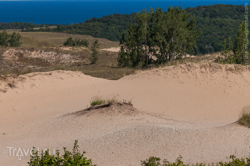 Озеро Мичиган. Sleeping Bear Dunes / Фото из США