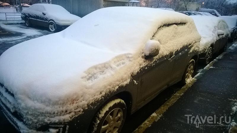 Москва-Сочи на машине на новый год / Фото из России