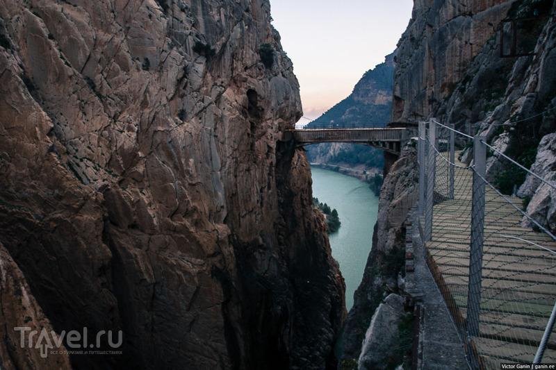Одна из самых страшных троп в мире - Caminito del Rey / Фото из Испании