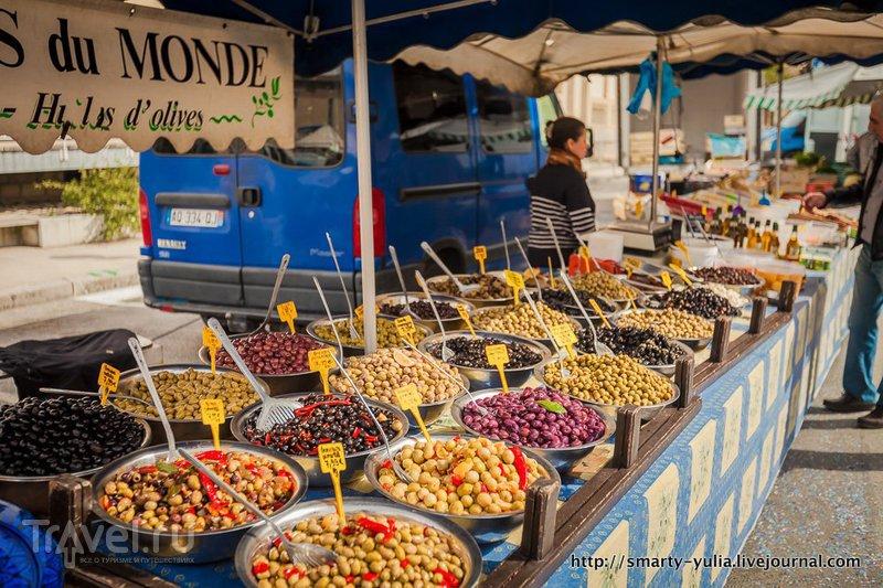 Рынок в Рона-Альпах / Франция