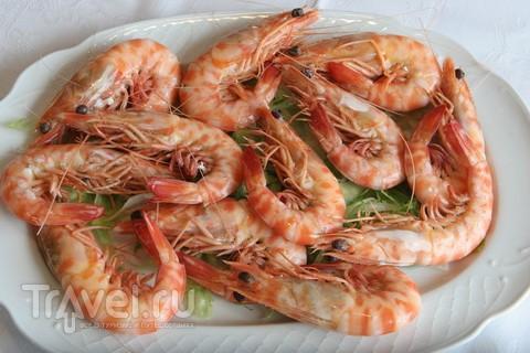 Креветки из Санлукара. С видом на океан / Испания