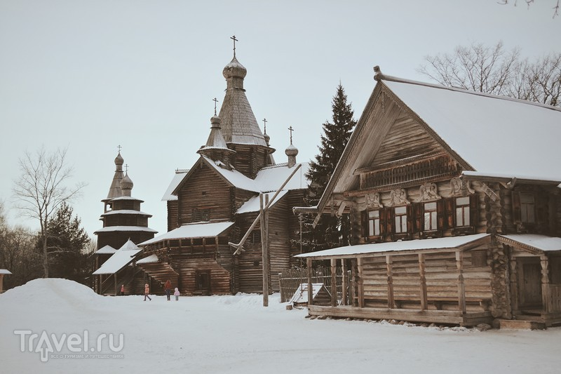 Витославлицы, музей деревянного зодчества под открытым небом / Россия