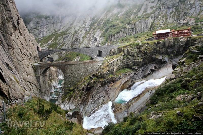 Чертов мост и другие суворовские места в Швейцарии / Фото из Швейцарии