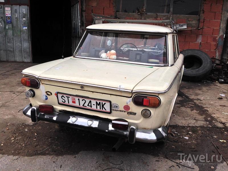Ретро-авто на Балканах - фетиш или показатель бедности? / Фото из Албании