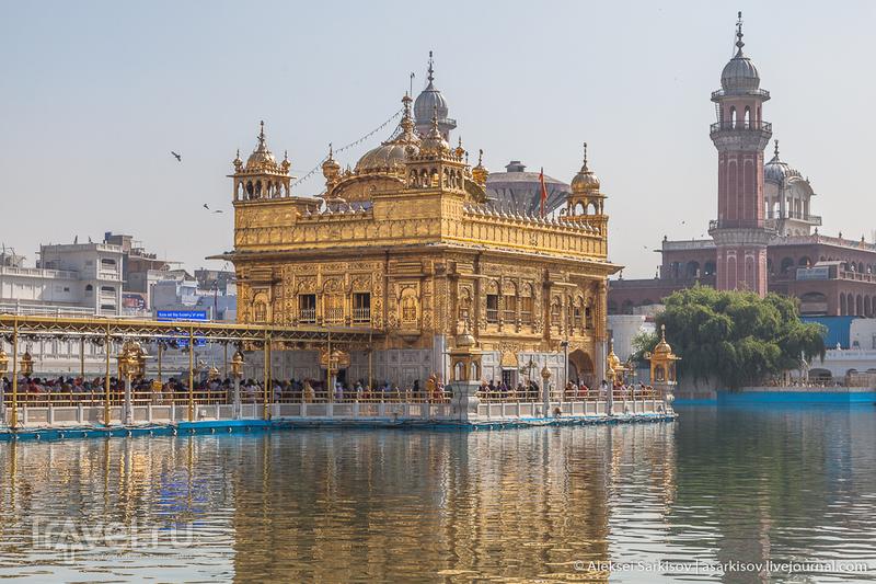 Индия. Амритсар. Золотой храм / Фото из Индии