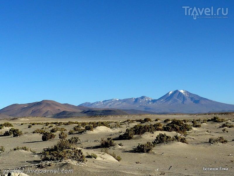 Un gran viaje a America del Sur. Боливия. Выход в космос. Страна вулканов / Фото из Боливии
