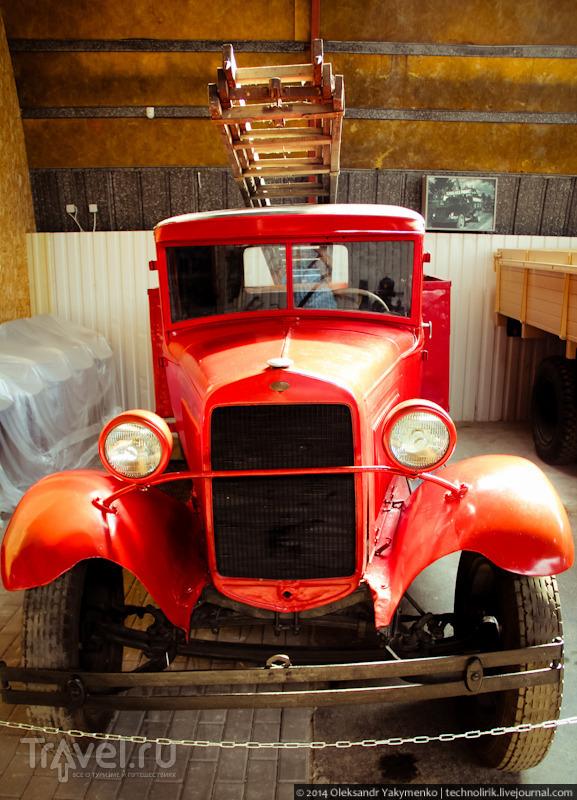 Филиал экспозиции Рижского моторного музея в Бауске / Фото из Латвии