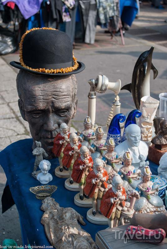 Блошиный рынок Будапешта / Венгрия