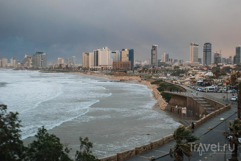 Тель-Авив и стихия / Израиль