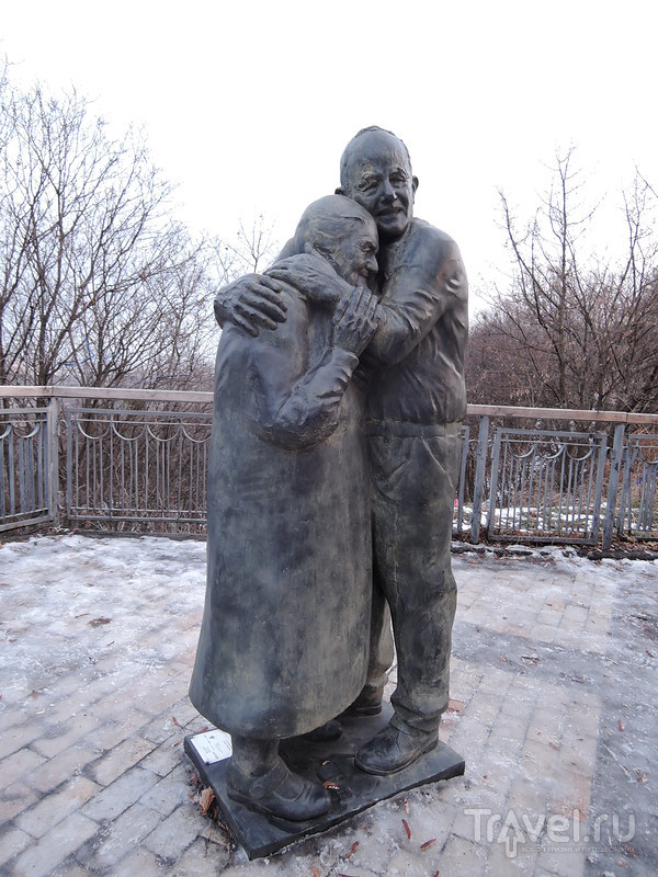 Пешком по рождественскому Киеву. Музей воды, Крещатый парк / Украина