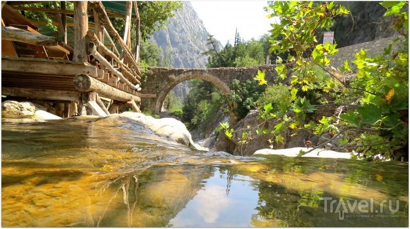 По следам Александра Македонского. Турция, Кемер, мост Кесме / Турция