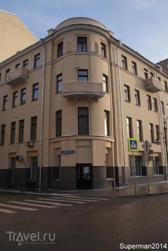 Дворы-колодцы в Москве / Россия