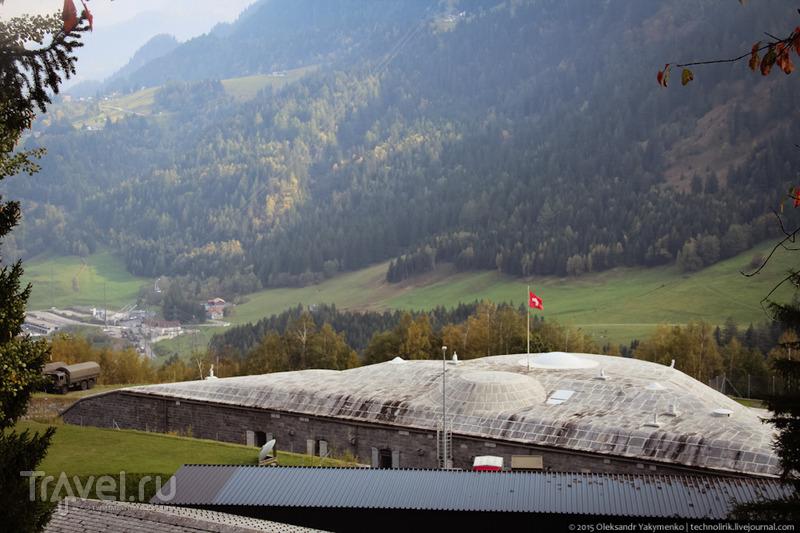 Самая красивая дорога Швейцарии и фортификация перевала Сен-Готард / Фото из Швейцарии