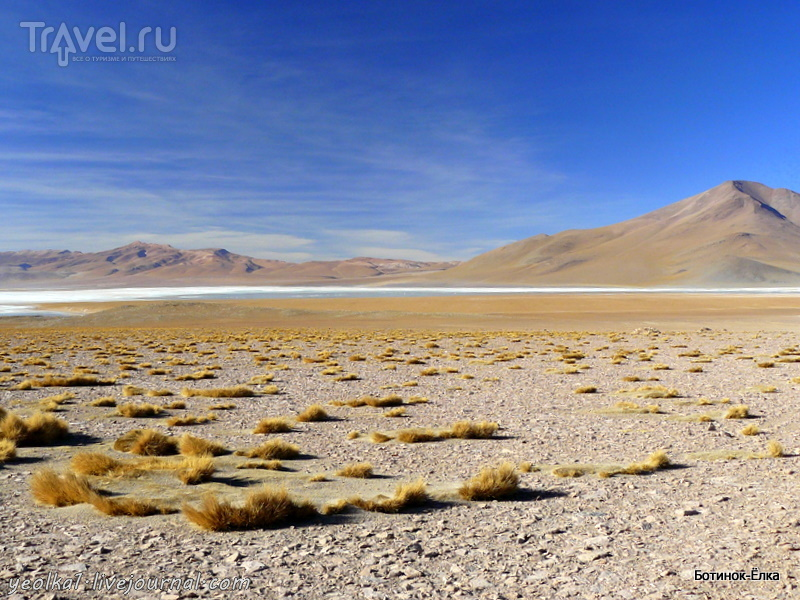 Un gran viaje a America del Sur. Боливия. Выход в космос. Марсианские хроники / Фото из Боливии