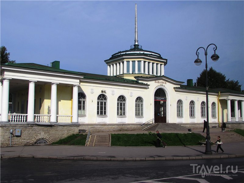 Утренний Павловск / Россия