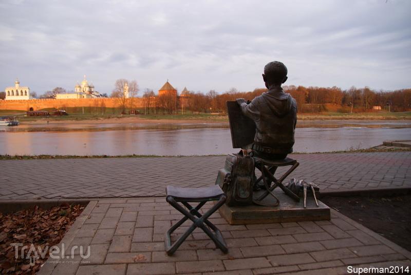 Великий Новгород утром / Россия