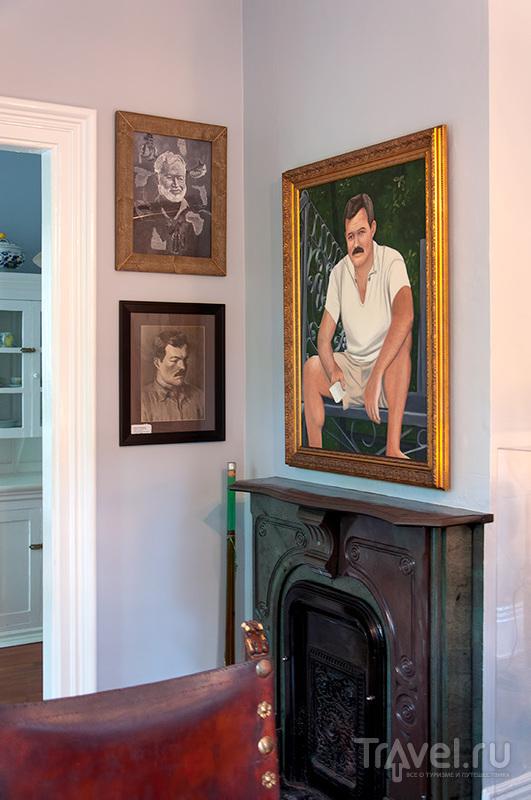 Ки-Уест, дом с котами, где жил Хемингуэй / Фото из США