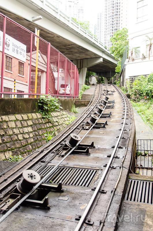 Фуникулер на Пик Виктория Peak Tram / Гонконг - Сянган (КНР)