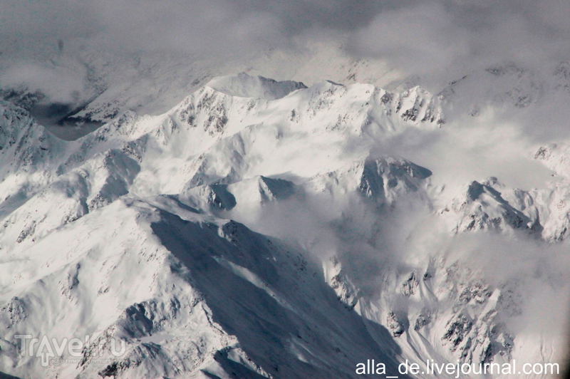 Полет над Миланом и Альпами / Австрия