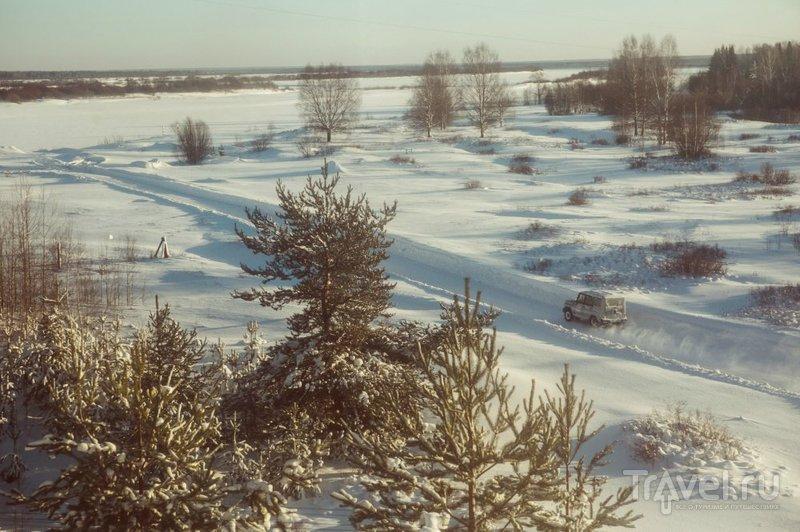 Путешествие на поезде по крайнему северу России / Россия